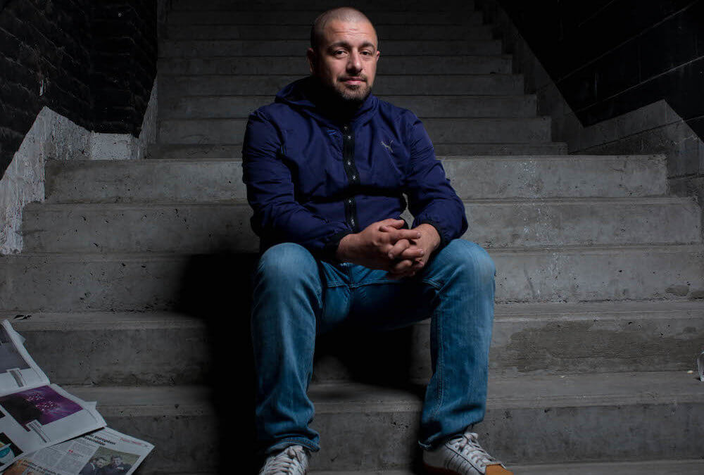 Julien Pitinome, coordinateur – photoreporter