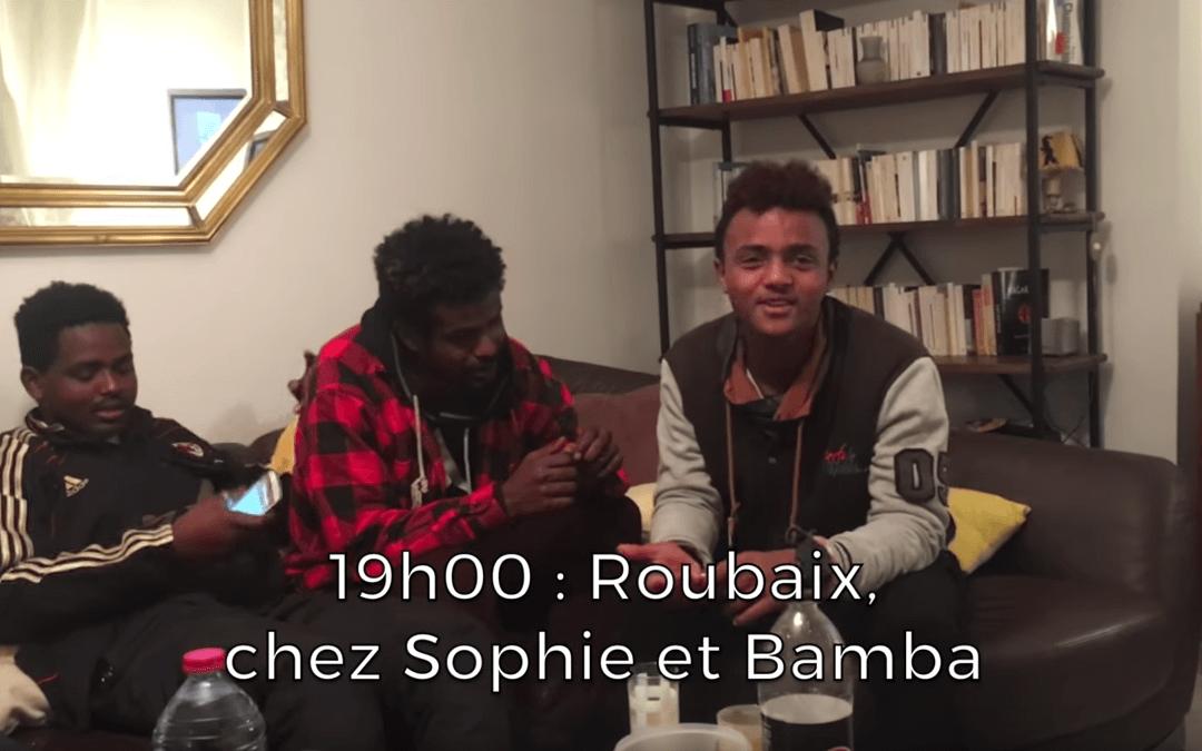 Des migrants de Calais dans mon salon