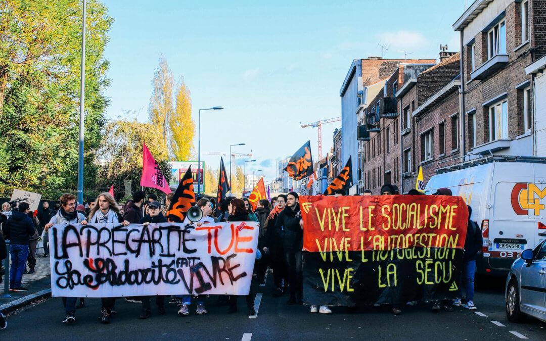 A Lille, les étudiants révoltés contre la précarité