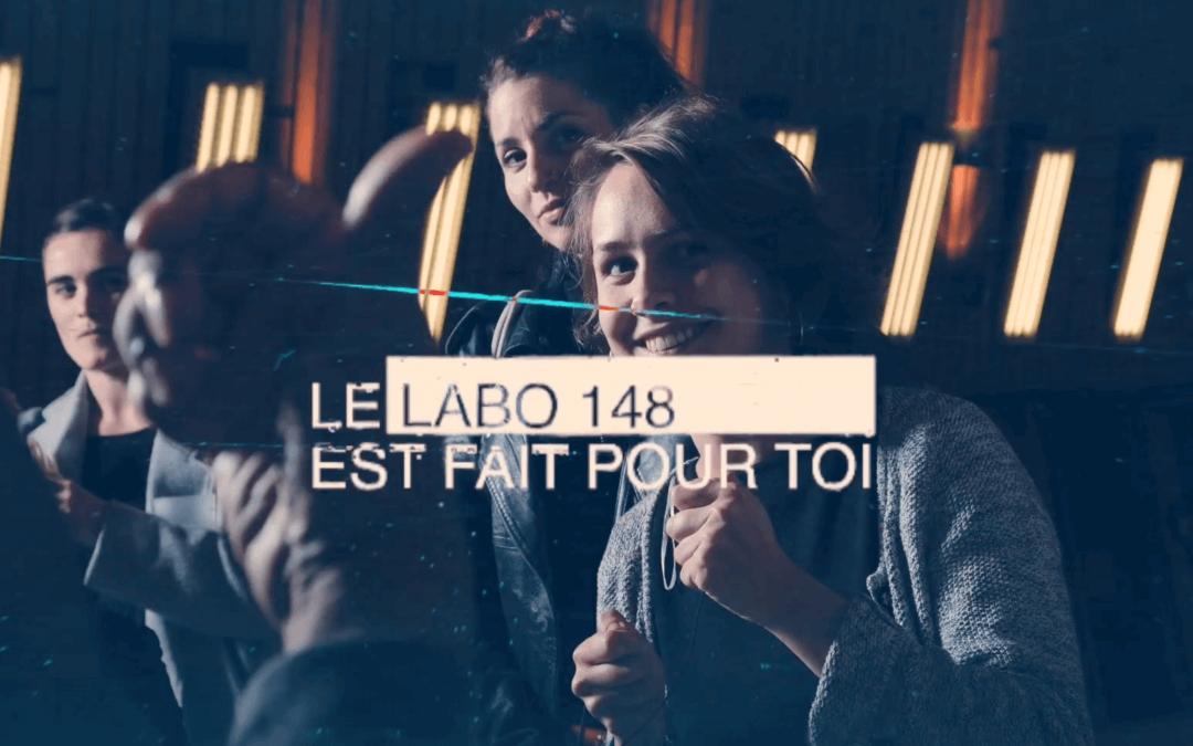 Teaser – LABO 148, projet média à Roubaix