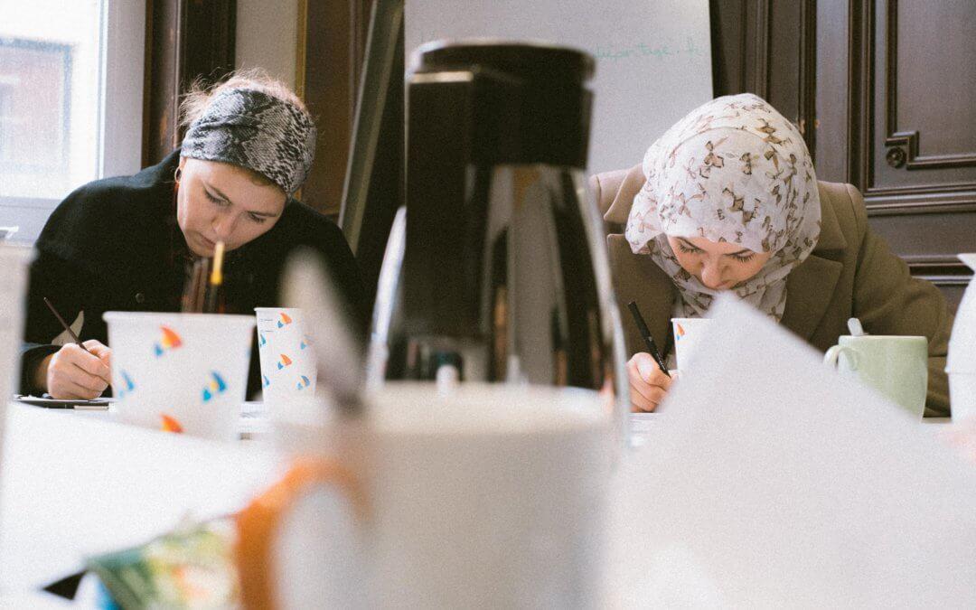 BEL ENDROIT – Musée à la C'art : Ateliers dessin à amitié partage