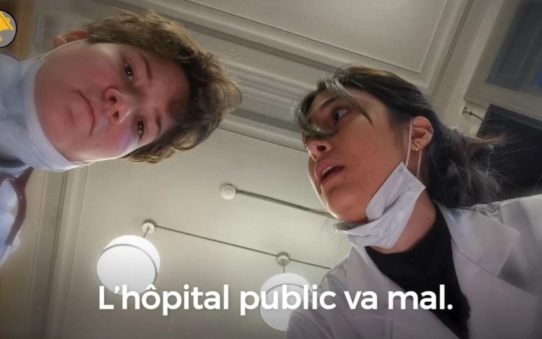 Des jeunes de Roubaix questionnent la crise de l'hôpital public