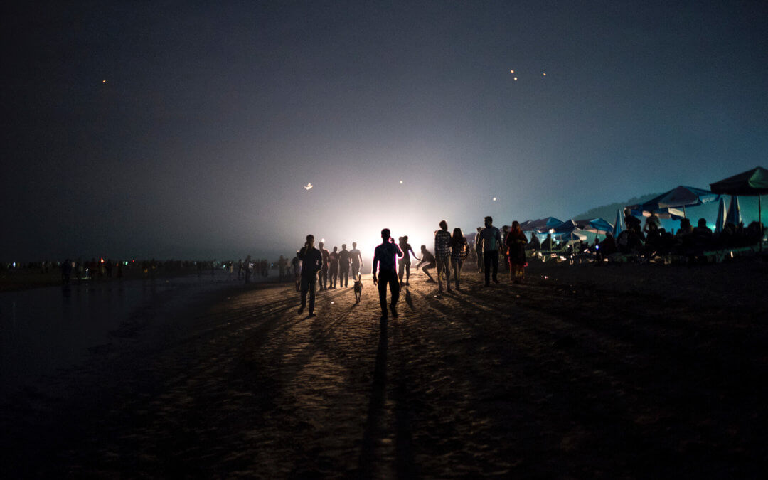 Un réfugié Rohingya