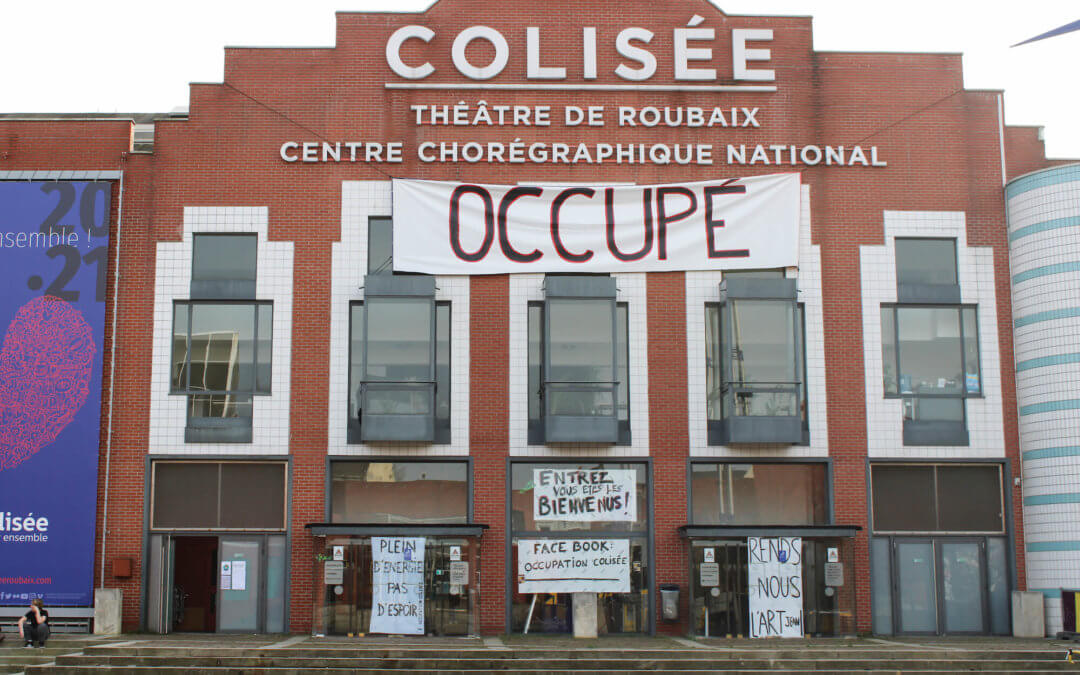 « Sans culture, on s'éteint. » Occupation du Colisée à Roubaix