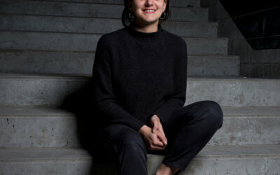Léa Aujal, journaliste